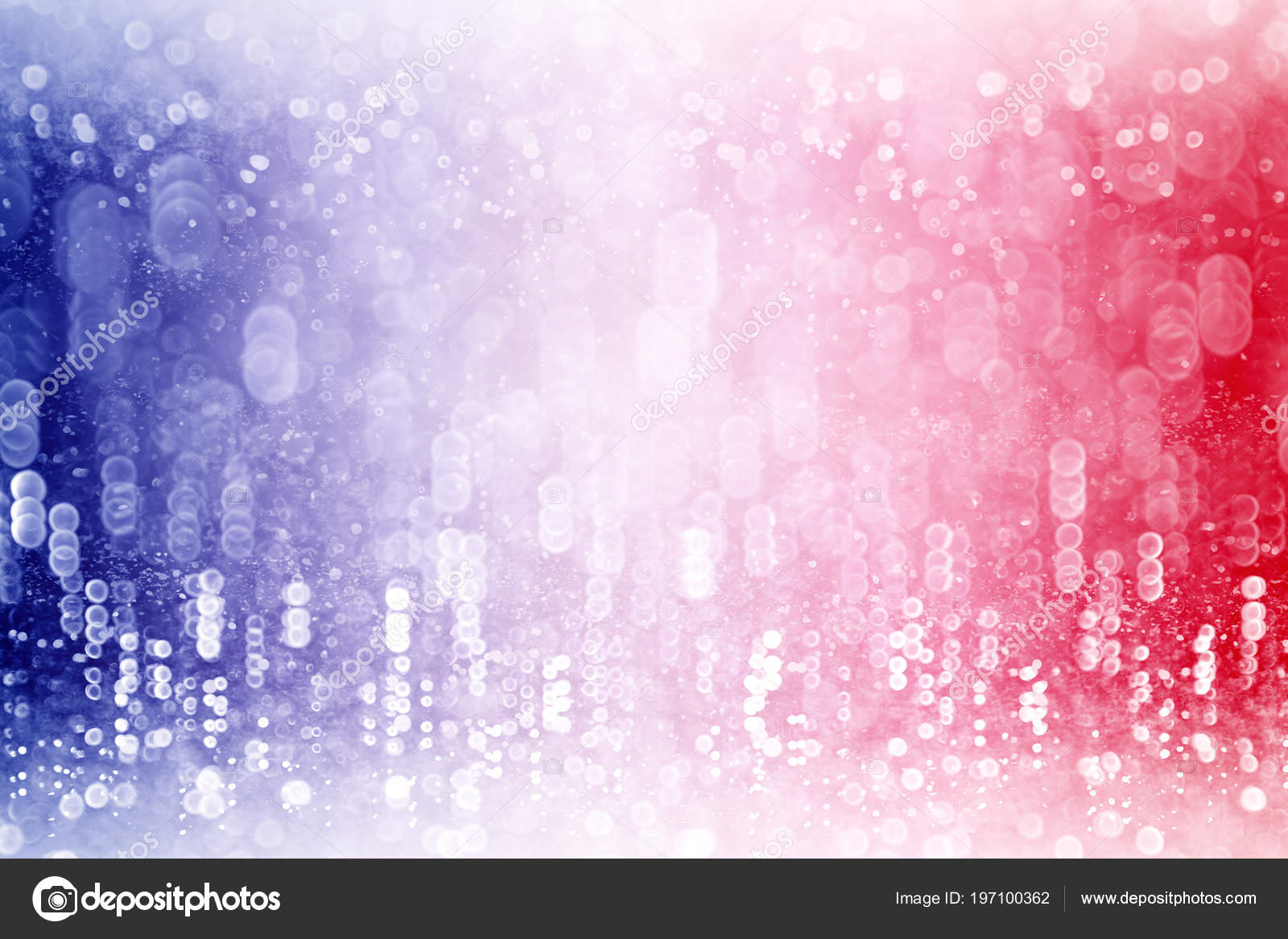 abstract patriotic red white blue glitter sparkle background party