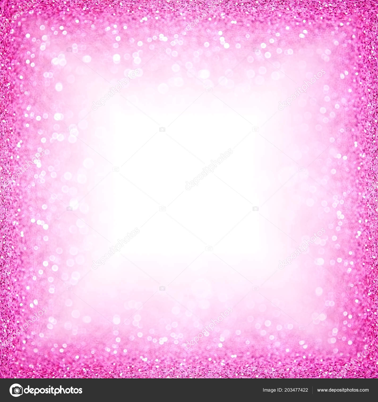 fancy pink white glitter sparkle confetti background happy