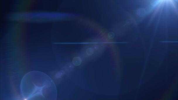 Animaci disco záře světel a paprsků reflektorů Hd