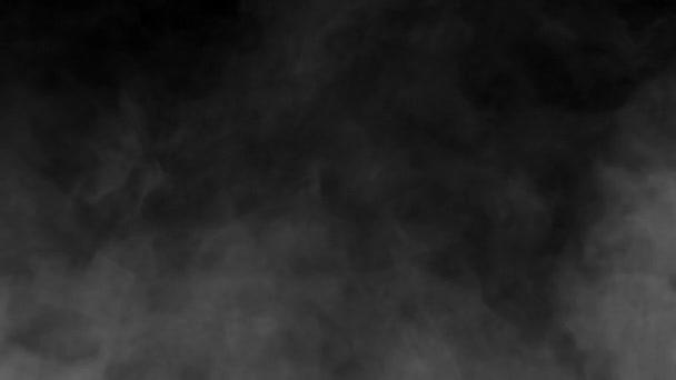 Efekt bílého kouře z kouřového stroje HD 1080p