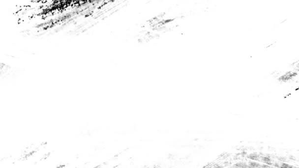 Gyors ütemű fekete akril festék fehér alapon Hd 1920x1080