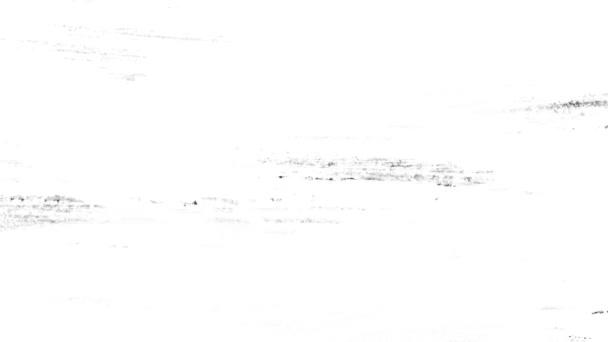 Mázolás a fehér háttér fekete festék mozgásban.Textúra vagy háttér