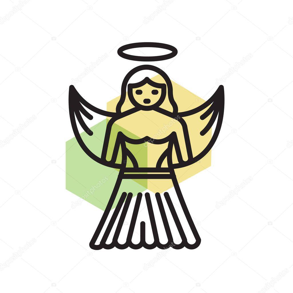 имеет эксклюзивное картинка ангела из значков еще