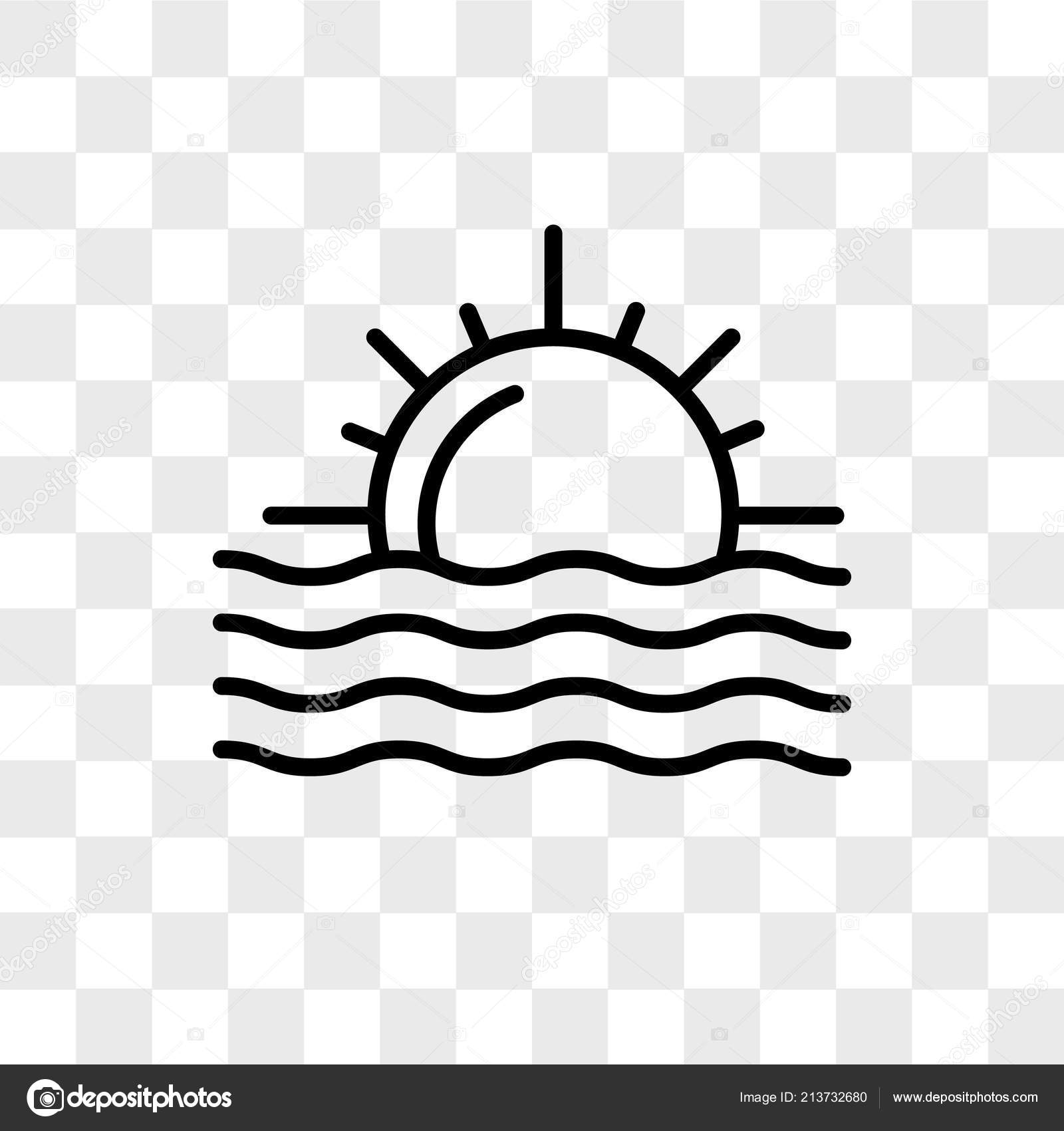 sunset vector icon isolated on transparent background sunset lo stock vector c provectorstock 213732680 https depositphotos com 213732680 stock illustration sunset vector icon isolated on html