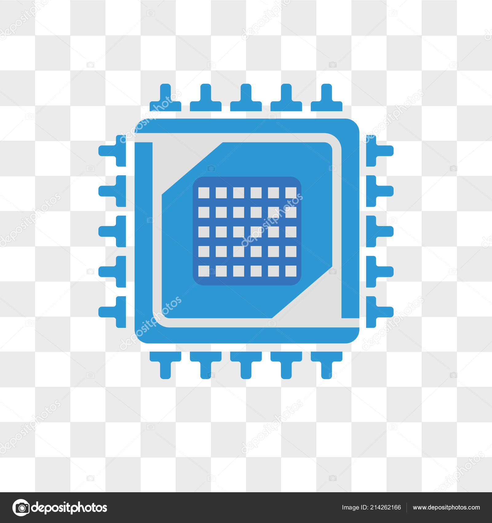 cpu vector icon isolated on transparent background cpu logo des stock vector c provectorstock 214262166 https depositphotos com 214262166 stock illustration cpu vector icon isolated on html