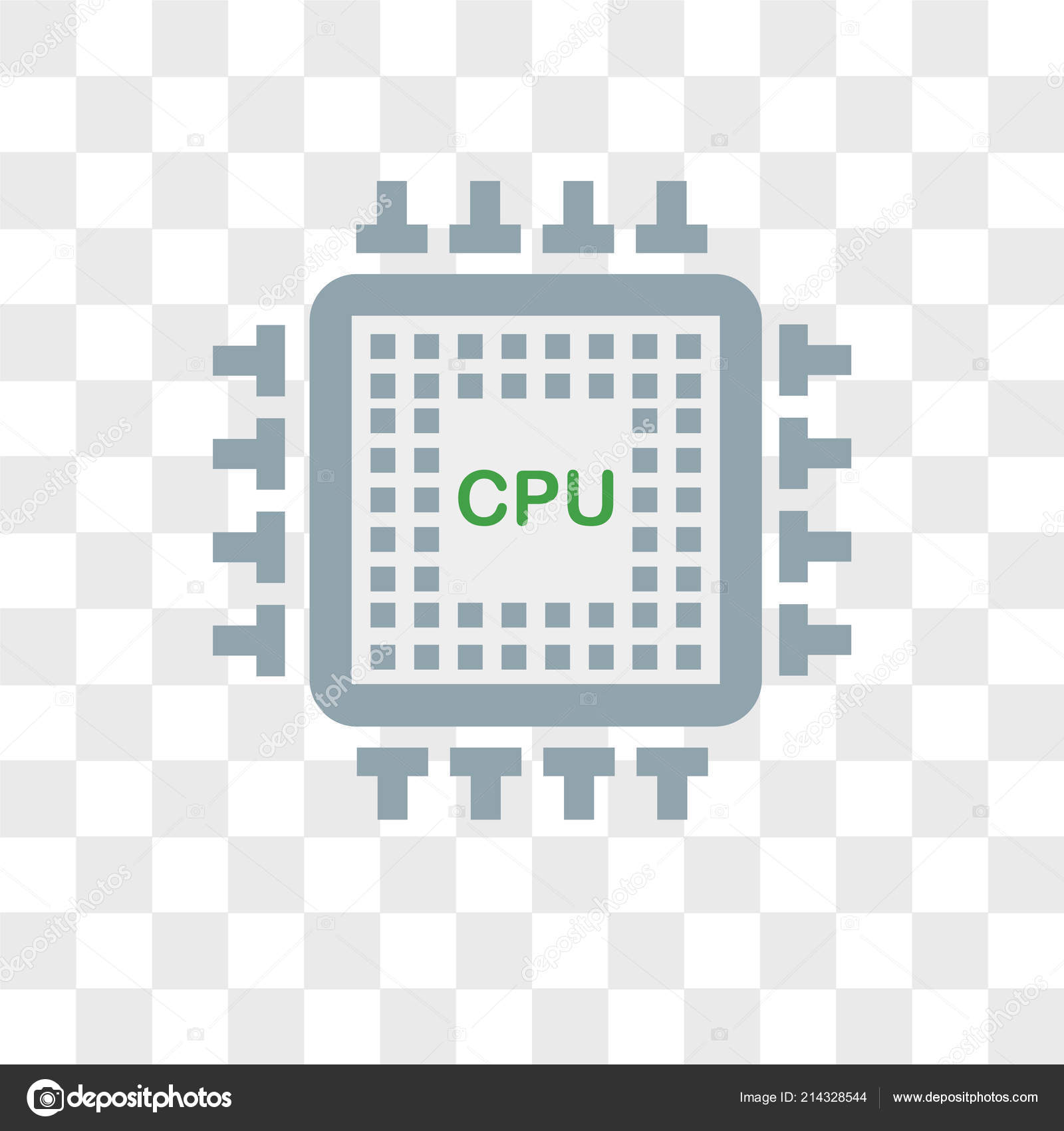 cpu vector icon isolated on transparent background cpu logo des stock vector c provectorstock 214328544 https depositphotos com 214328544 stock illustration cpu vector icon isolated on html