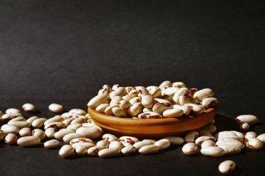 Heap of white beans