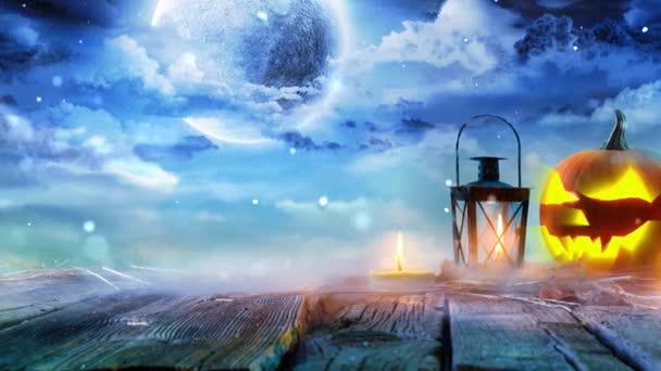 Jack Lámpások ragyognak Holdfényben V2