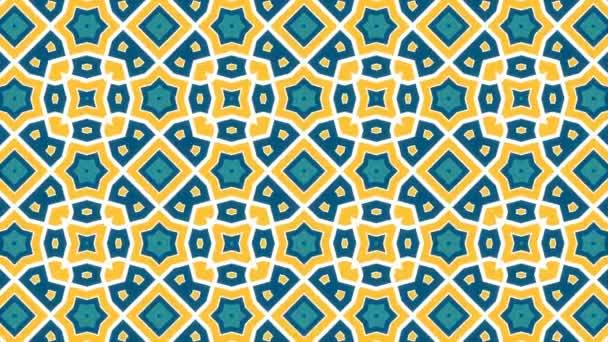 Háttérkép furcsasága 8 / 4 k narancs kék mintával Video háttér hurok. Egy tarka lassan kifejlődő mintát egy tarkabarka érint. Annak ellenére, hogy a nyugalom hipnotizáló.