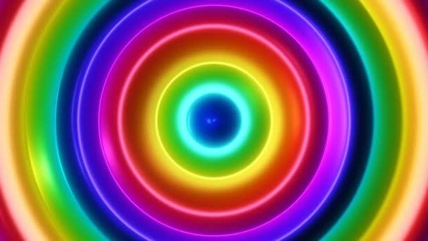 Színes Flow 2 / 4 k többszínű szerves pszichedelikus Video háttér hurok. Vékony színes koncentrikus körökben fejlődött belülről kifelé. Elegáns, excentrikus és hipnotikus fajta. A textúra meg egy 3D-s pohár megjelenés-hoz ez.