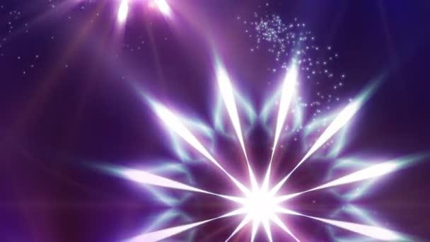Silquestar Deluxe / / 4 k okouzlující vánoční hvězdy smyčky Video na pozadí. Hvězda jako abstraktní vločky pomalu padat k zemi. Silquestar je nádherný a okouzlující vánoční video smyčky. Užijte si!