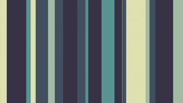 Barevné pruhy 33 / / 4k zelenavé barvy pruhů smyčky Video na pozadí. Animované barevné pruhy! Multistripe pastva pro vaše oči. Číslo 33 v sérii.