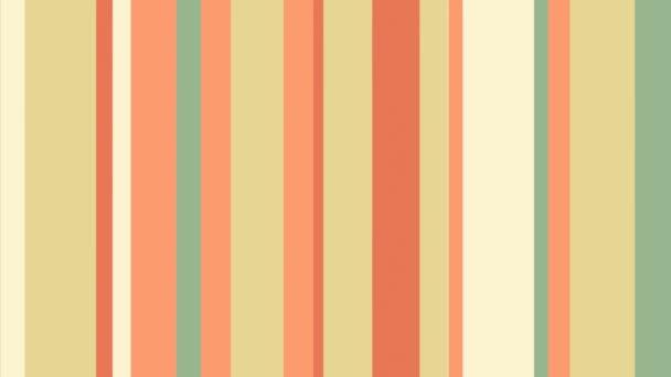 Barevné pruhy 51 / / 4 k útulné vertikály Video pozadí smyčky. Animované barevné pruhy! Multistripe pastva pro vaše oči. Číslo 51 v sérii.
