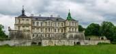 Fotografia Lato nord del castello Pidhirtsi del XVII secolo, Ucraina
