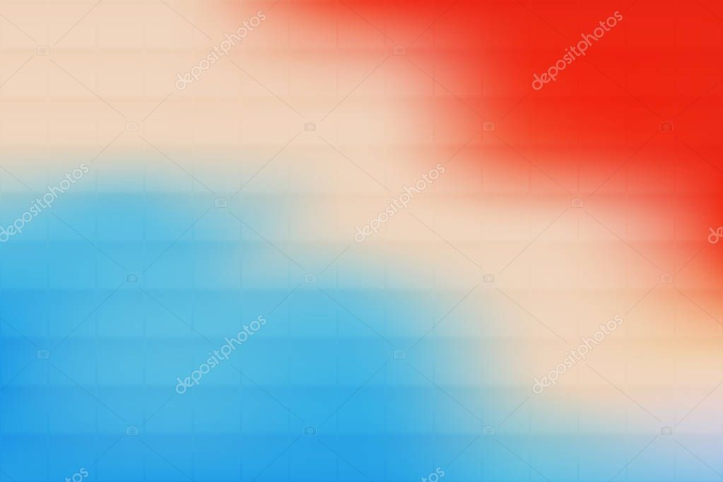 mosaic decorative background image red white and blue gradient mesh print vector illustration abstract pattern color flow backdrop digital art for banner wallpaper screen and decor materials premium vector in adobe mosaic decorative background image