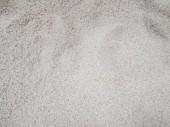 Fotografie rohe ungekochte Haufen Reis im Supermarkt zu verkaufen