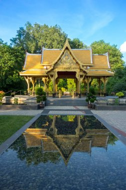 Thai pavilion in Olbrich Botanical Gardens in Madison, Wisconsin