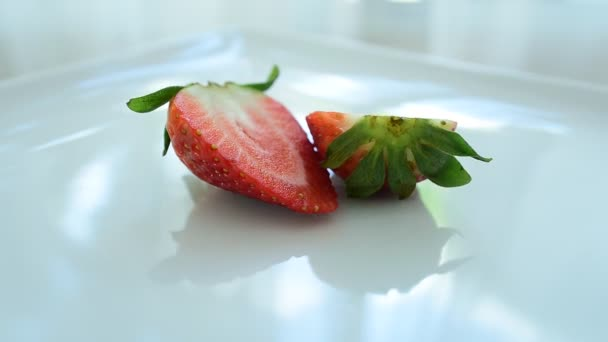 Strawberries fresh from the market. Eat well.Healthy eating, dieting concept.Composition with a variety of organic vegetables and fruits. Balanced diet. Colorful fresh fruits on white background.
