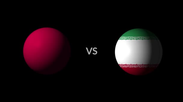 Soccer competition, national teams Morocco vs Iran