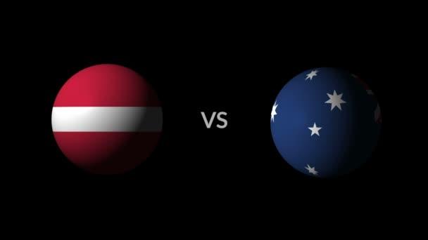 Soccer competition, national teams Denmark vs Australia