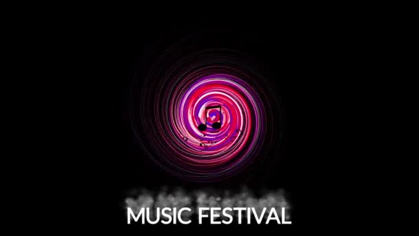 A music symbol, the concept of entertainment and music