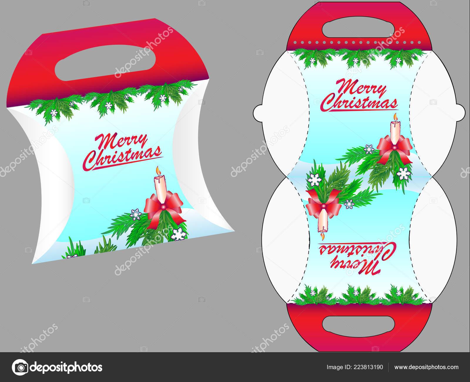 Andere Weihnachtsgeschenke.Geschenk Box Geschenk Box Vorlage Für Süßigkeiten Oder Andere