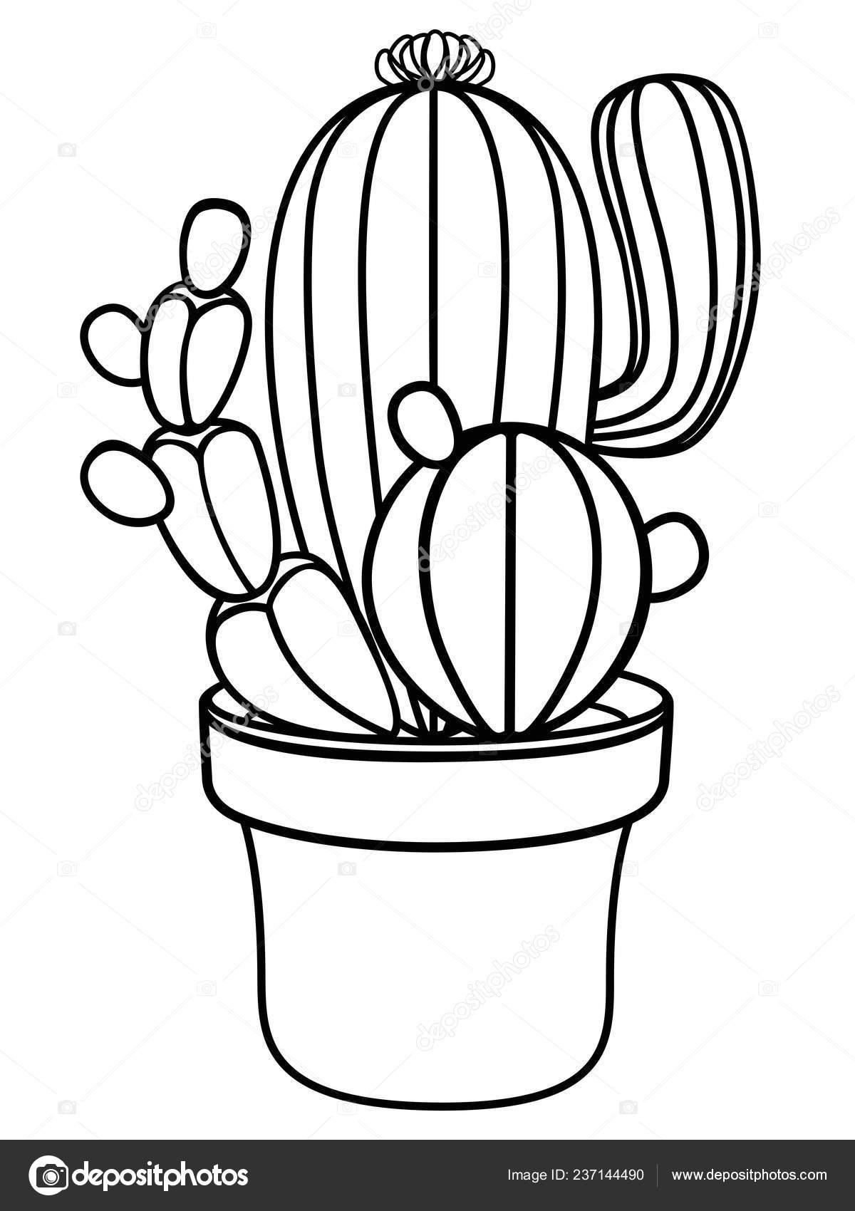 Diy Schmuckhalter Oder Ketten Halter In Kaktus 9