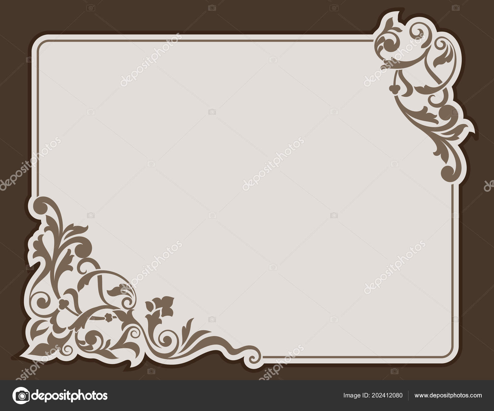 Floral card banner vector template design printed products floral card banner vector template design printed products invitation cards vetores de stock stopboris Images