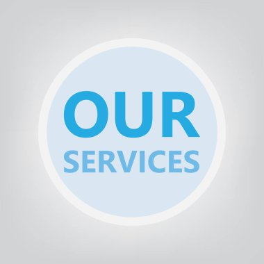 our services concept- vector illustration