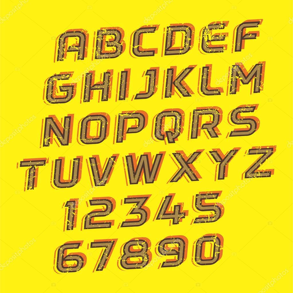 Handcrafted Vector Font Collection
