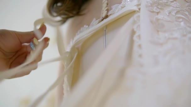 Close Up Wedding Dress Ribbon Ties At Back Corset Stock Video C Yarmedia 209758046,Wedding Dress Shops Austin Tx