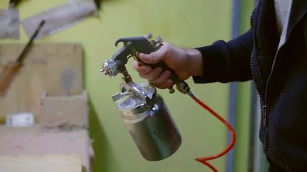 produzione di mobili di lavoro fa sì che lo strato liscio di dettaglio distributore pneumatico di colla