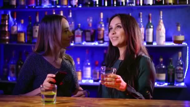 Girls night in a bar.