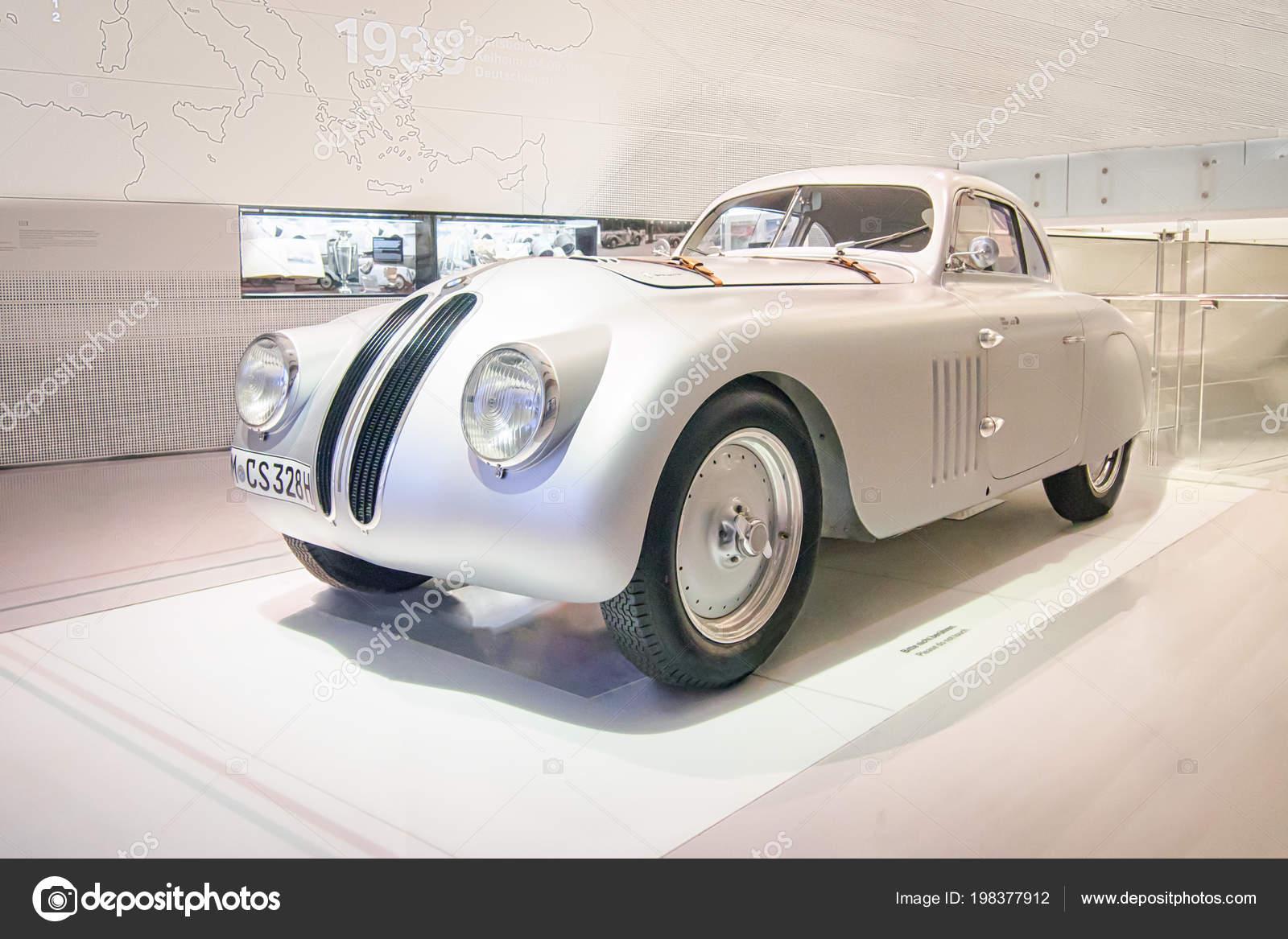 Munich Germany April 2017 1939 Bmw 328 Touring Coupe Bmw – Stock ...