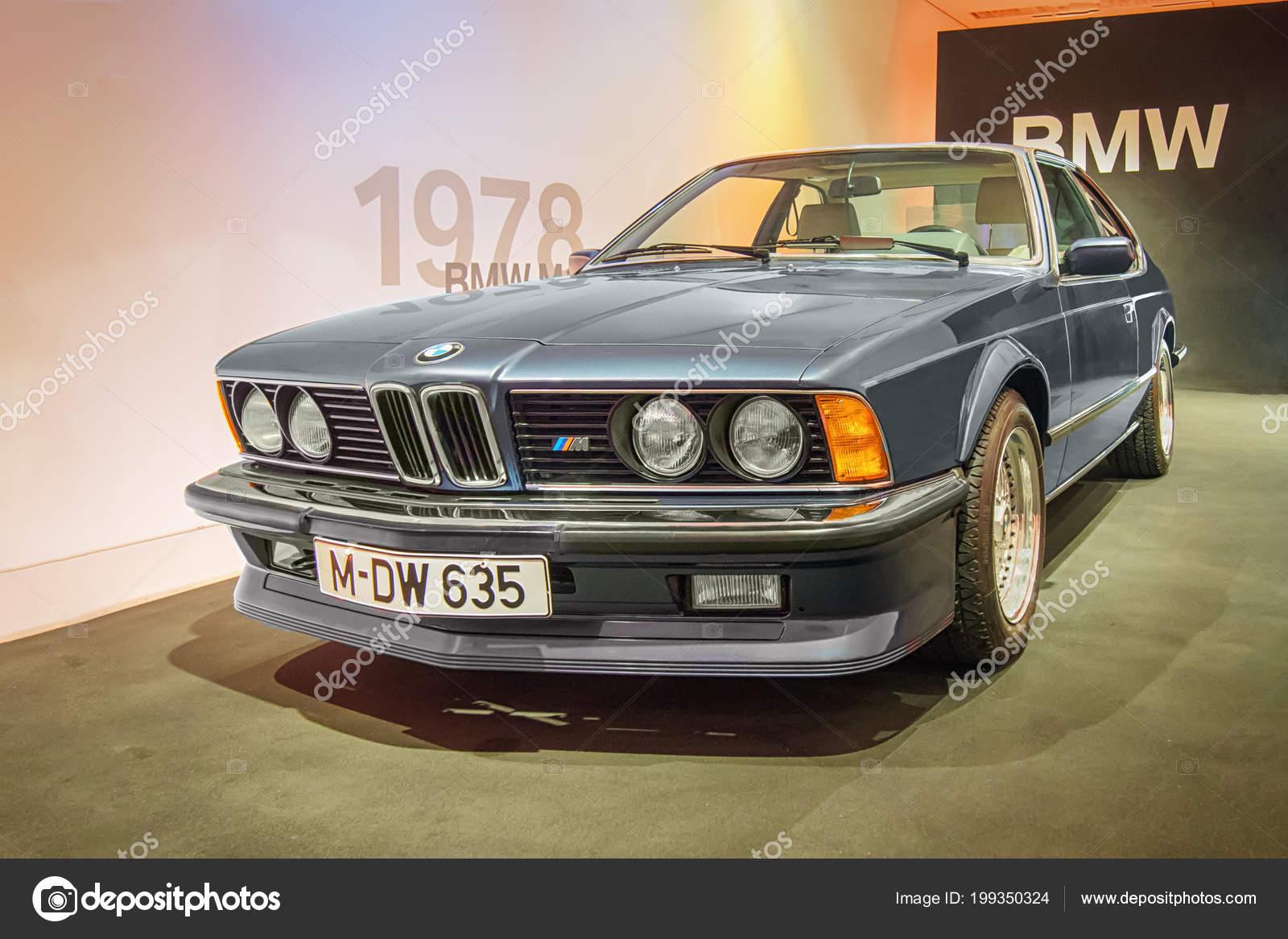 Munich Germany April 2017 1983 Bmw M635 Csi Bmw Museum