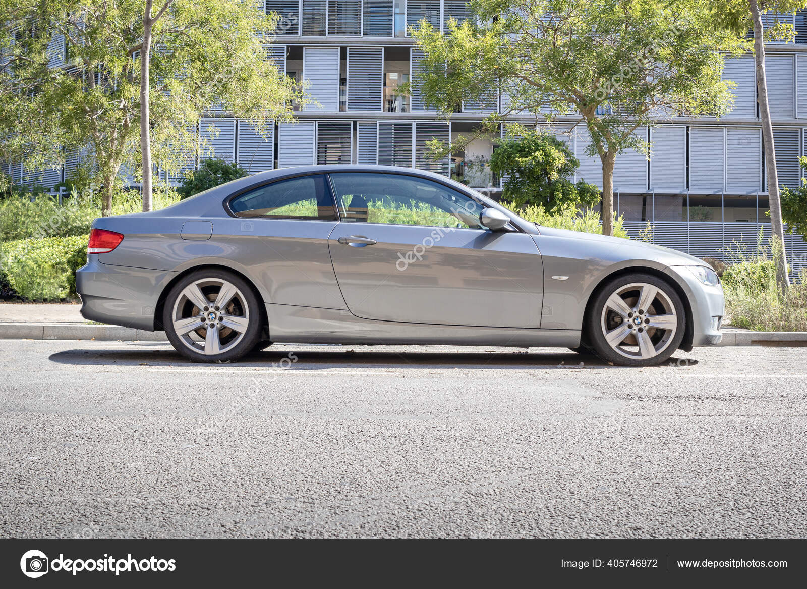 Barcelona Spain August 2020 2006 Bmw Series Coupe E92 Side Stock Editorial Photo C 9377 405746972