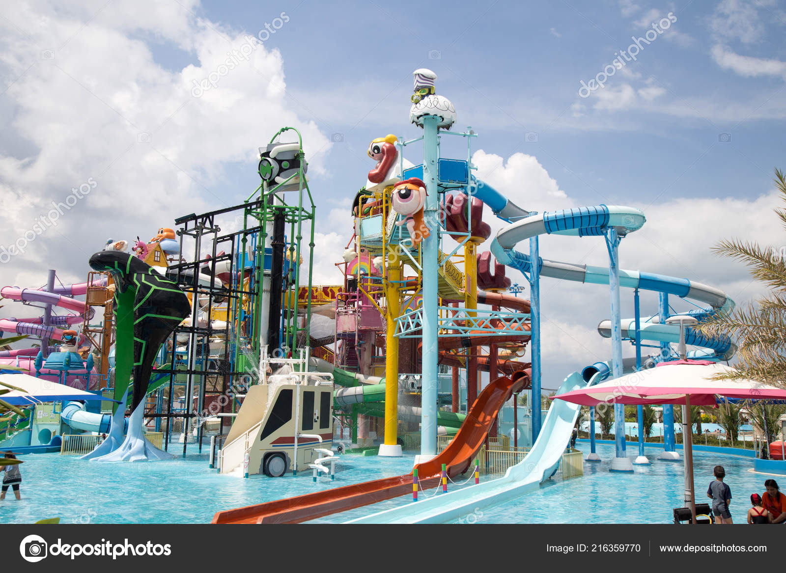 Cartoon Network Amazone Water Park Pattaya Thailand March 2017 Famous Stock Editorial Photo C Chayakorn Lot Gmail Com 216359770