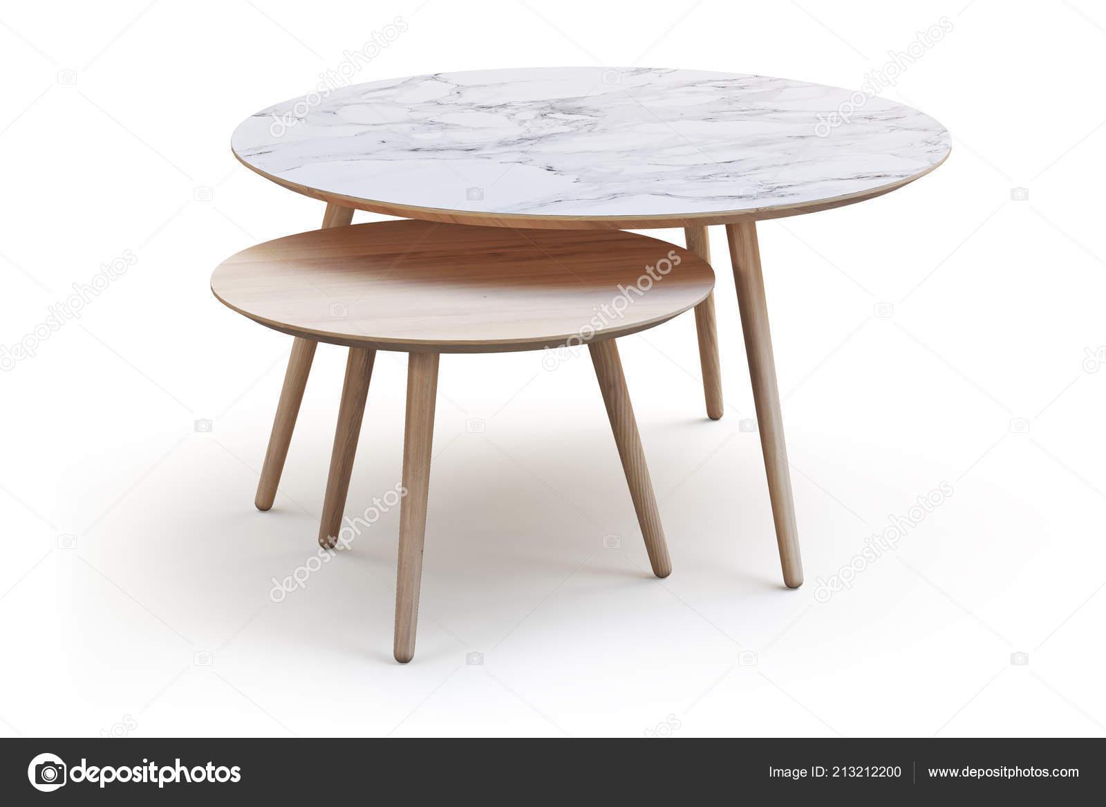 Tavolini Da Salotto Rotondi Moderni.Tavolini Salotto Rotondi Bianchi Moderni Gambe Sottili Marmo