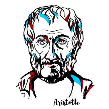 Aristotle Vector Portrait