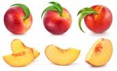 Fényképek őszibarack gyümölcsök gyűjtemény