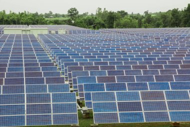 Solar energy, Solar cell is a clean and energy for free use.