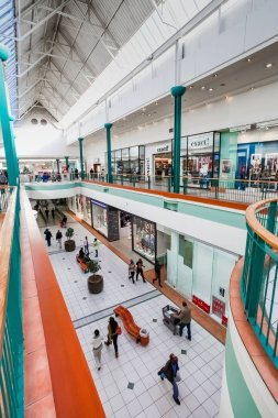 Inside Interior of Alberton City Mall in Johannesburg