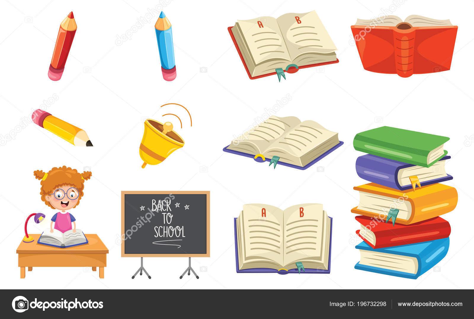 Illustration Vectorielle Lire Livre Image Vectorielle