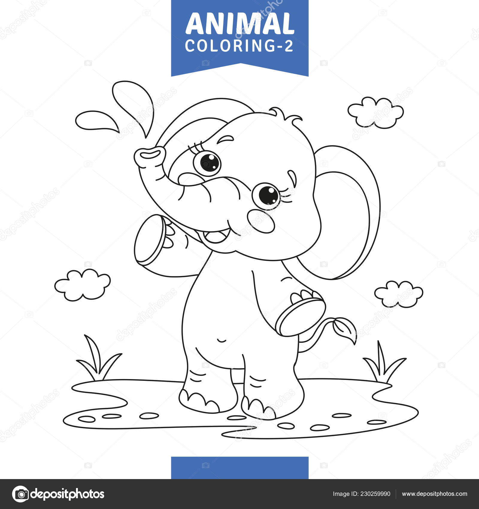 Illustration Vectorielle Coloriage Animaux Image