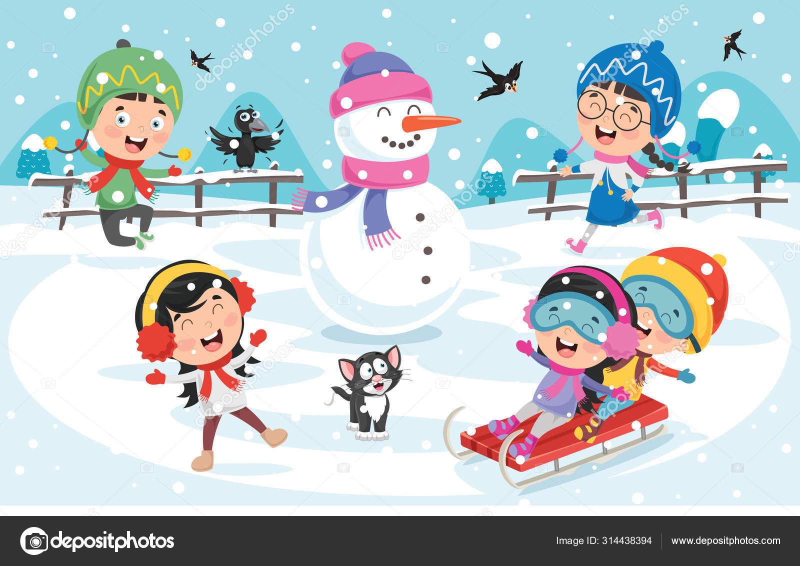 Áˆ Kids Playing Outside Cartoon Stock Vectors Royalty Free Kids Playing Outside Illustrations Download On Depositphotos