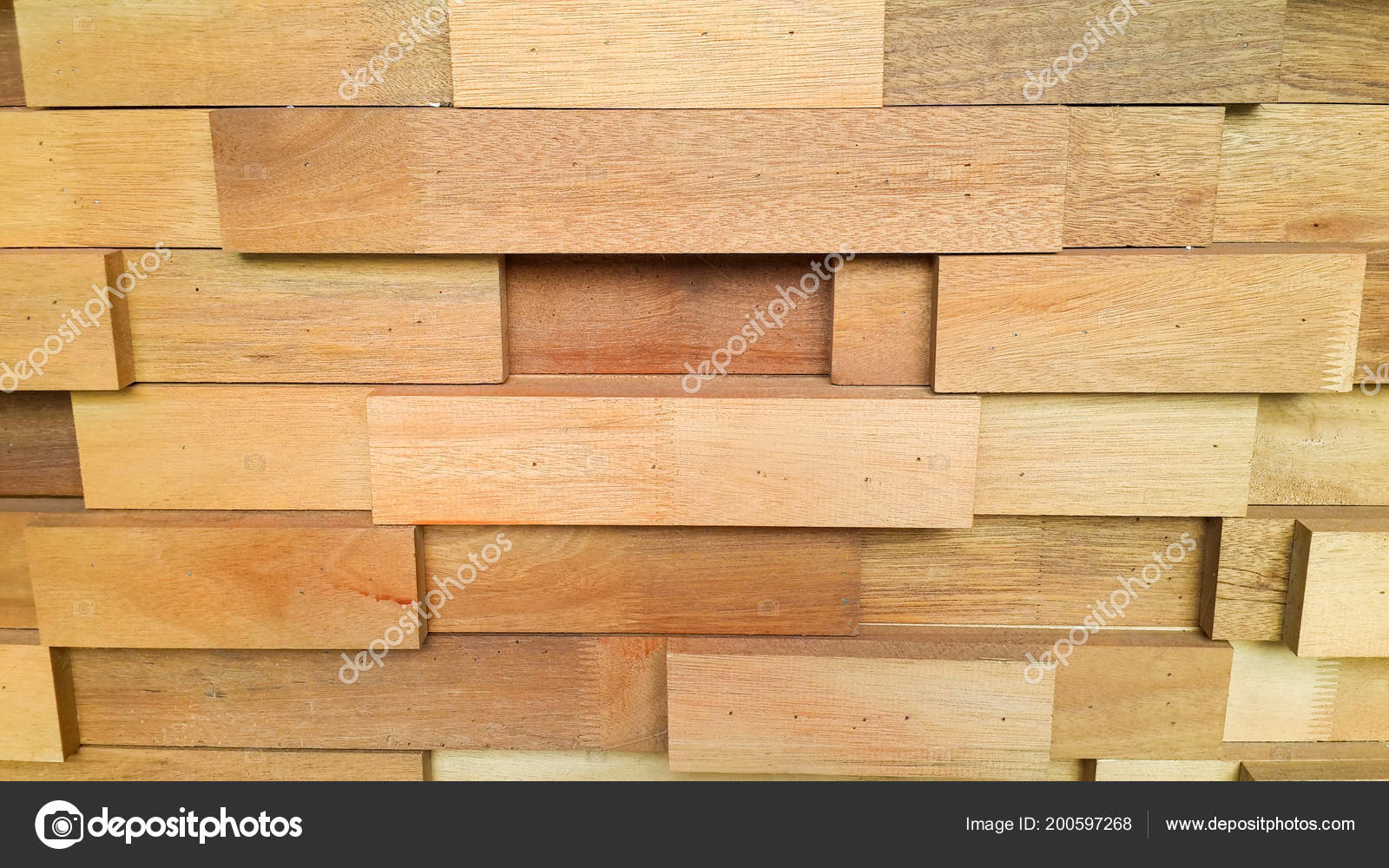 Stack Lumber Textured Wooden Cube Background Wooden Backdrop ...