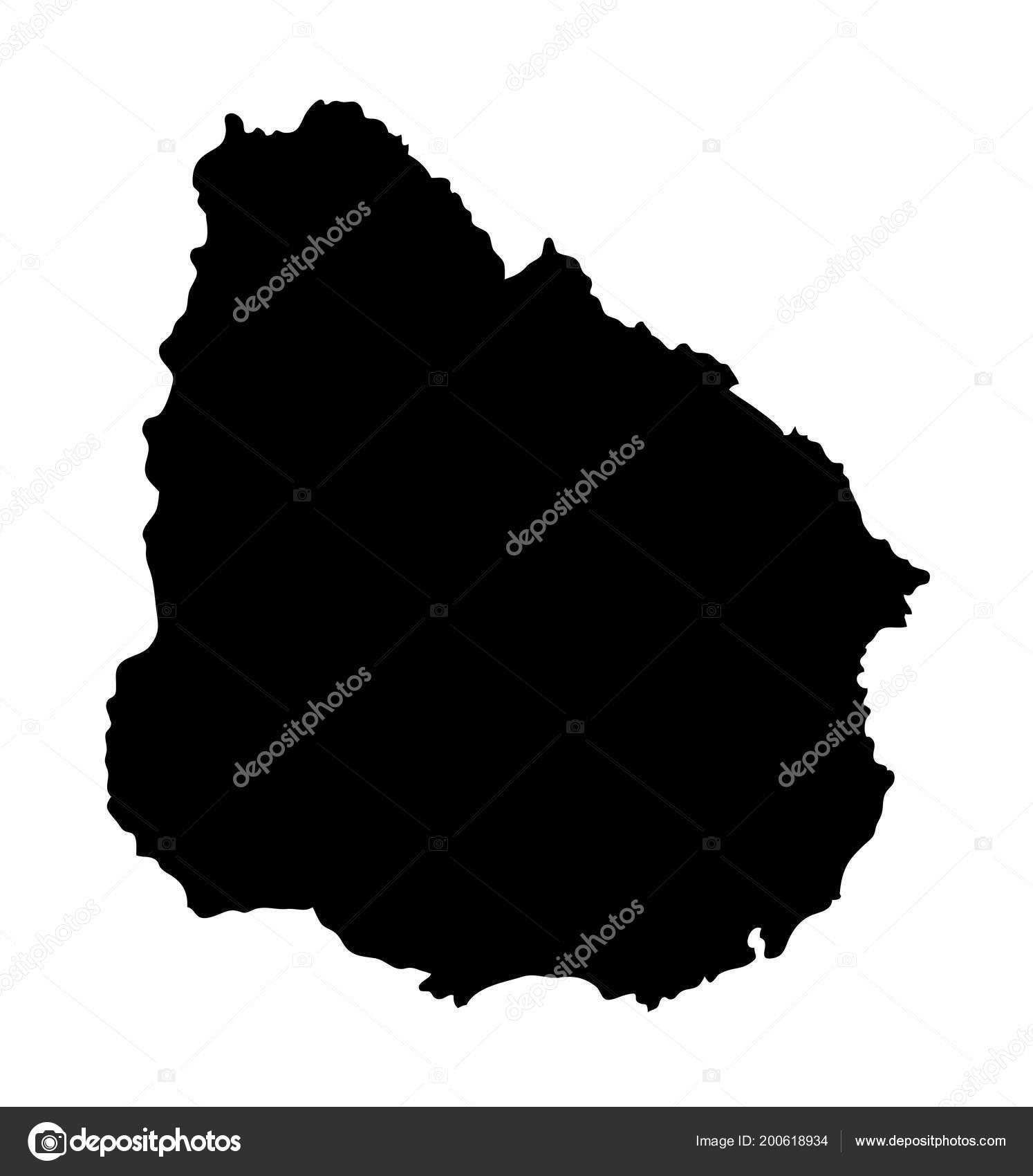 Mapa Uruguay Buen Uso Smbolo Logotipo Web Icono Mascota Signo