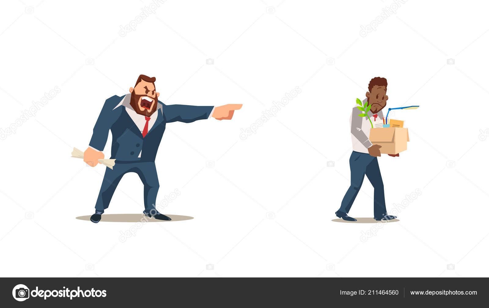 muž vyhodiť práce