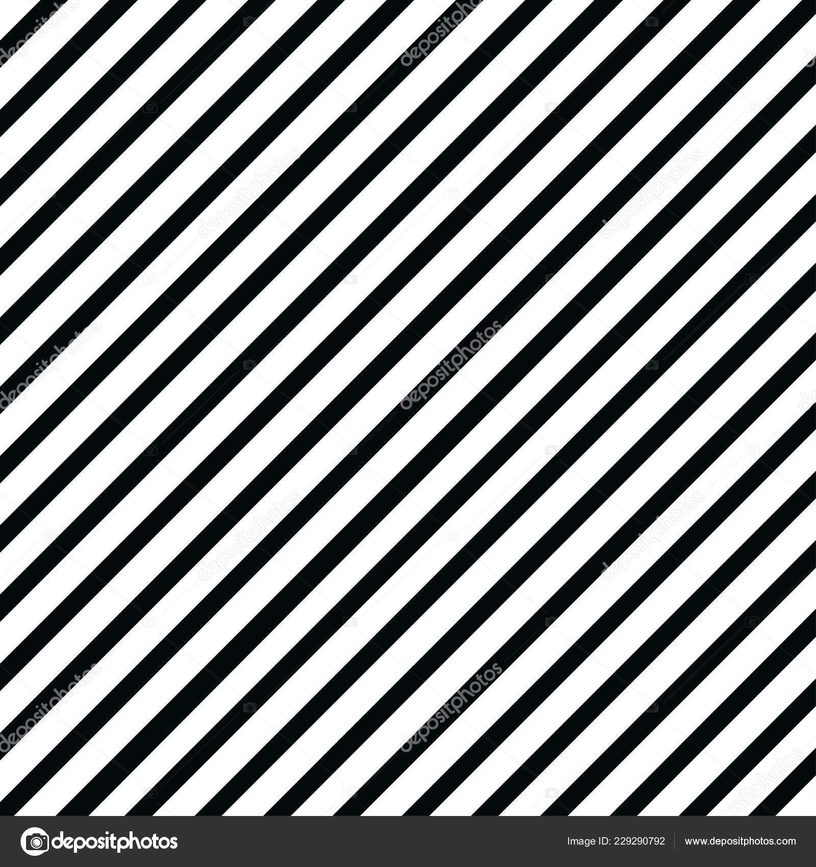 Vector Illustration Background White Black Stripes Stock Vector