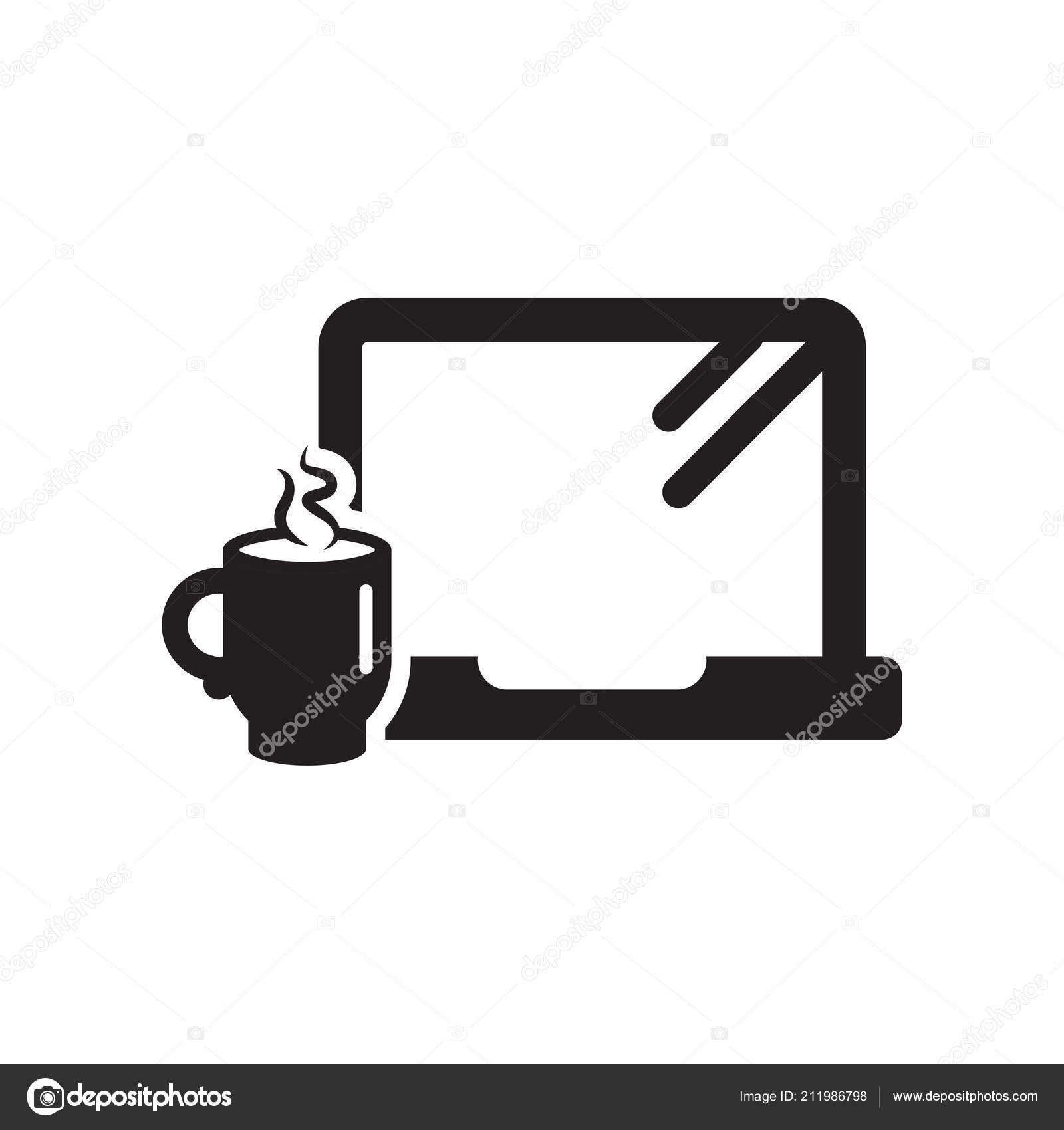 Morning Work Icon Vector Sign And Symbol Isolated On White Backg Stock Vector C Vectorgalaxy 211986798